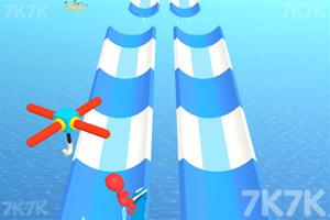 《水上乐园冲浪》游戏画面1