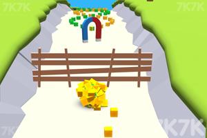 《黏球向前冲》游戏画面2