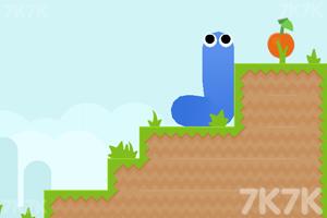 《小蛇吃蘋果》游戲畫面3