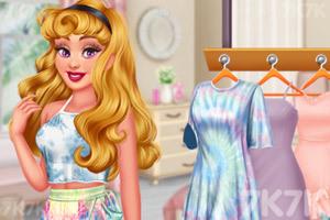 《姐妹的扎染时装》截图1
