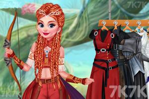 《骑士公主装扮》游戏画面3