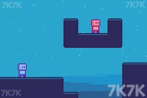 《机器人夺旗》游戏画面1