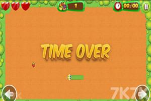 《蛇蛇吃水果》游戏画面2