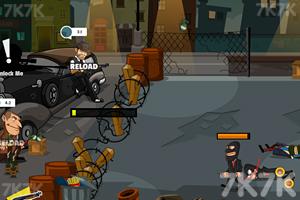 《黑色枪战》游戏画面3