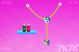 《切繩子打罐》游戲畫面2