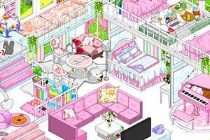 《豪华公主卧室2》游戏画面1