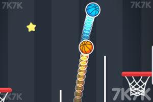 《弹力篮球》游戏画面3
