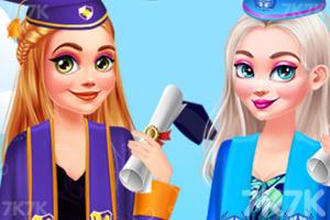 《少女畢業派對》游戲畫面1