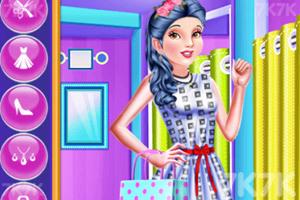 《公主的時髦購物》游戲畫面3