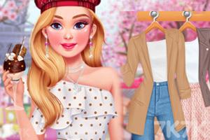 《巴黎时尚穿搭》游戏画面2