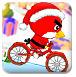 小鸟骑单车