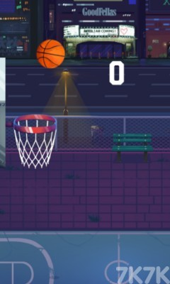 《节奏篮球》游戏画面1