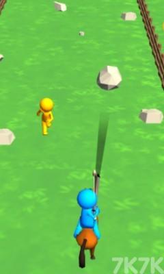 《骑马的弓箭手无敌版》游戏画面3