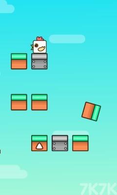 《跳跳鸡》游戏画面1