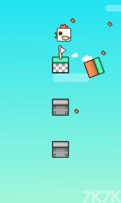 《跳跳鸡》游戏画面2