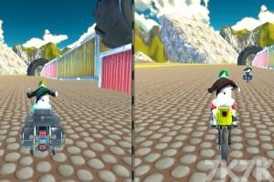 《都会摩托车比赛》游戏画面2