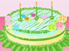 制作七彩蛋糕展示三