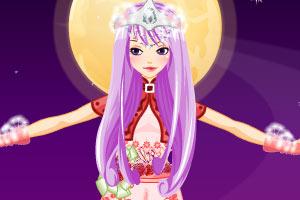 紫衣童话精灵