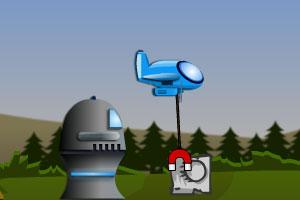 磁铁飞机防御