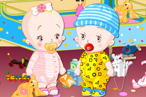 双胞胎宝贝