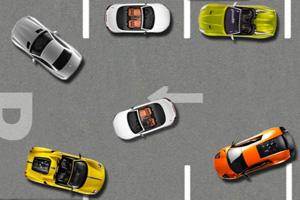 顶级跑车停车场