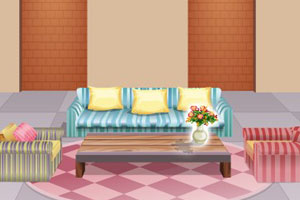 地中海风格的客厅