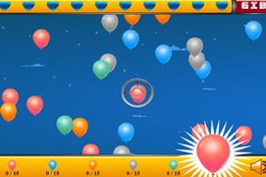 疯狂射气球