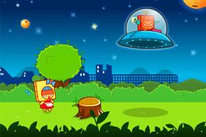 饼干达人躲避UFO