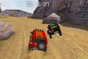 3D峡谷四驱车