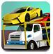 运输汽车的大卡车