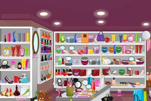 化妆品房间找东西