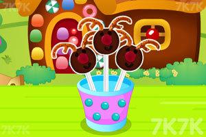 小鹿角巧克力棒棒糖