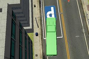 城市公交停车