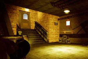 废弃地下室逃离
