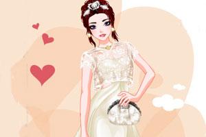 时尚的新娘子
