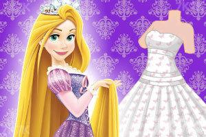 长发公主做裙子