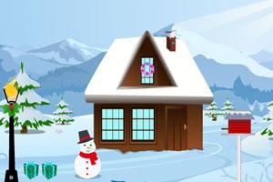 小男孩寻找圣诞礼物逃脱