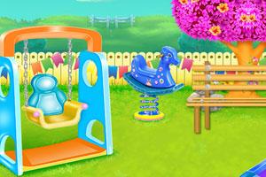 儿童公园花园清洁