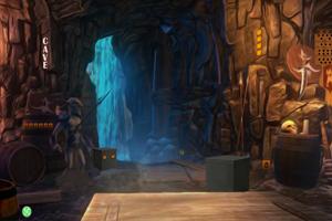山洞里寻宝藏