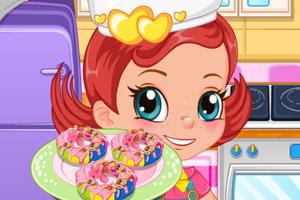 烤彩虹甜甜圈中文版