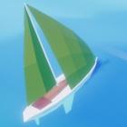 风吹帆船比赛