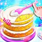 甜蜜人鱼蛋糕