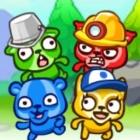 小动物游戏派对