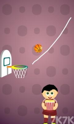 《畫線引球》游戲畫面1