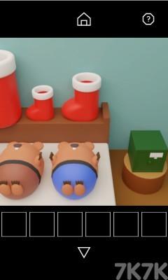 《圣诞密室解谜》游戏画面4