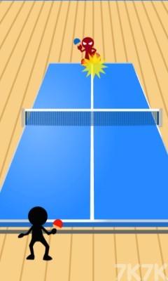 《火柴人乒乓球》游戏画面4