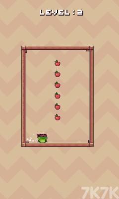 《青蛙跳一跳》游戲畫面1