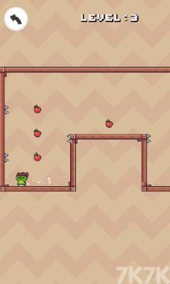 《青蛙跳一跳》游戲畫面2