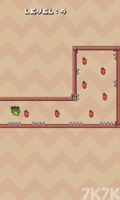 《青蛙跳一跳》游戲畫面3