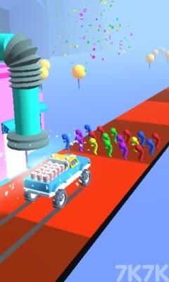 《送货汽车》游戏画面4